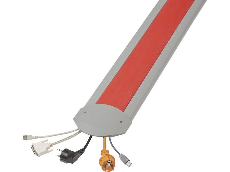 Serpa Kabelbrug TPE Lichtgrijs, Rood Aantal kanalen: 5 1500 mm Inhoud: 1 set
