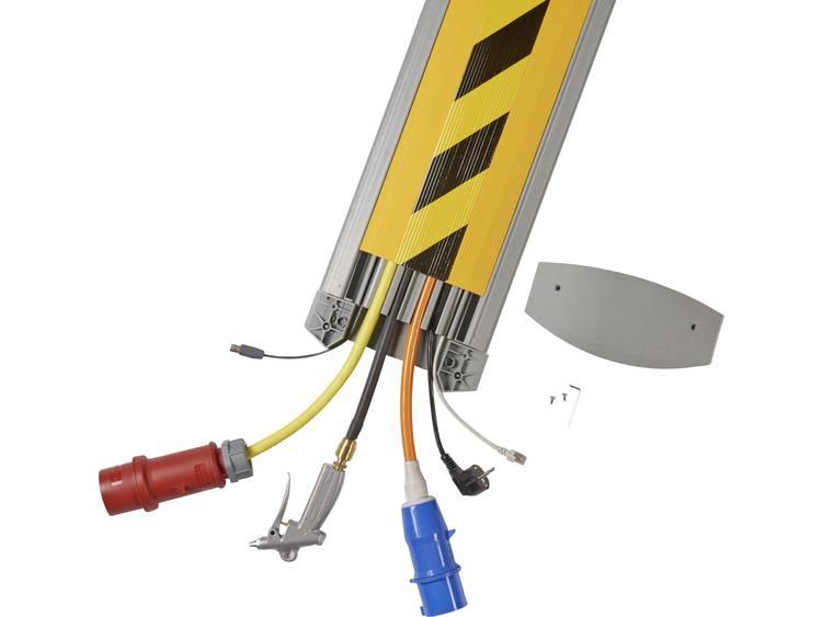 Serpa Kabelbrug TPE Lichtgrijs, Zwart-geel Aantal kanalen: 6 1500 mm Inhoud: 1 set