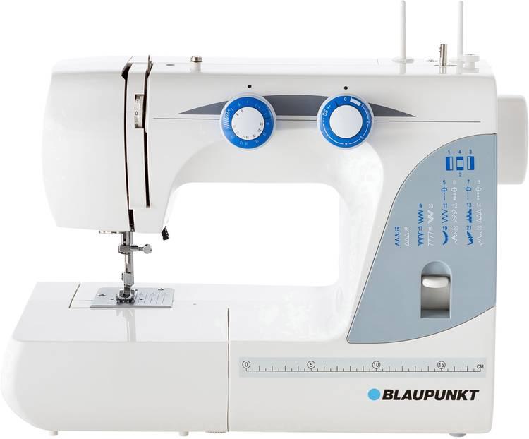 Naaimachine met vrije arm Blaupunkt Casual 845 LED-lamp Wit. Blauw