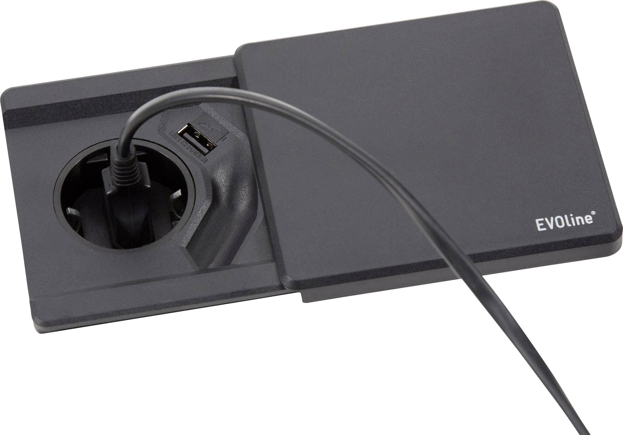 Tafel inbouw stopcontact: due inbouw stopcontact met schuifdeksels
