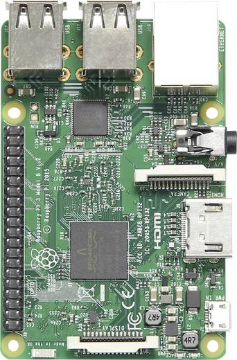 Raspberry Pi 3 model B Classroom-pack (5 stuks in opbergbox)