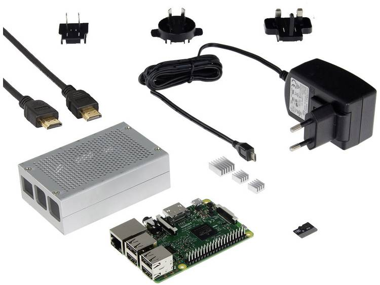 Raspberry Pi 3 Media center set 1 GB
