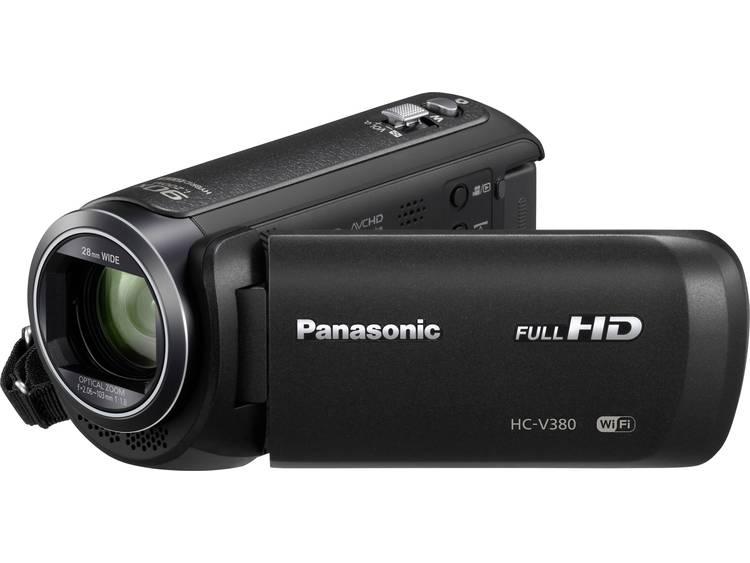 Panasonic HC-V380EG-K Camcorder 7.6 cm 3 inch 2.2 Mpix Zoom optisch: 50 x Zwart