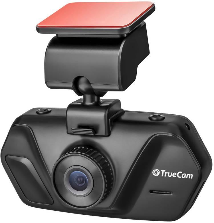 TrueCam A4 Dashcam Kijkhoek horizontaal (max.): 130  12 V. 24 V Display. Accu. Microfoon