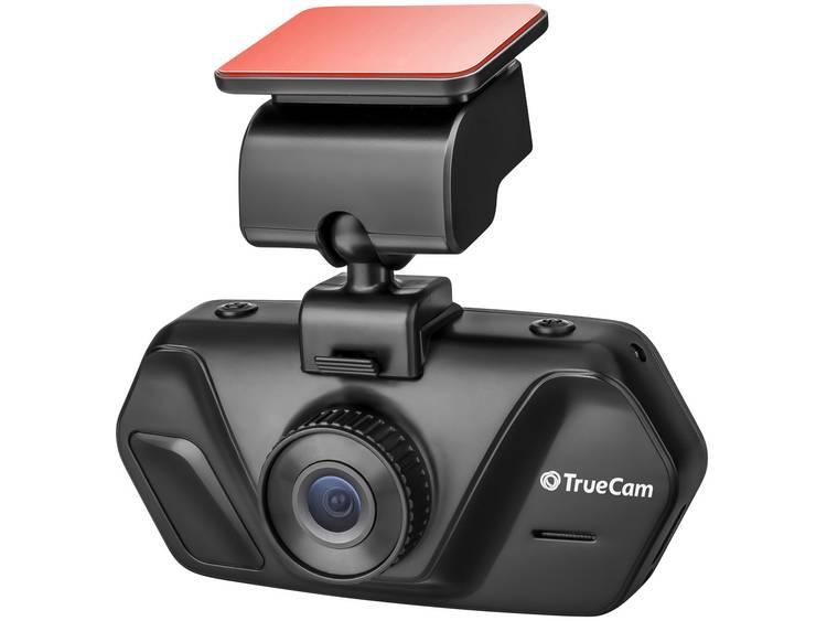 TrueCam A4 Dashcam Kijkhoek horizontaal (max.) 130 ° 12 V, 24 V Display, Accu, Microfoon
