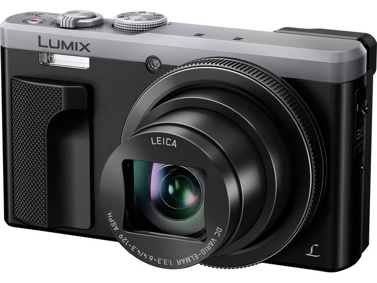Panasonic DMC-TZ81EG-S Digitale camera 18 Mpix Zoom optisch: 30 x Zilver-zwart WiFi, Full-HD video-opname, Touch-screen kopen