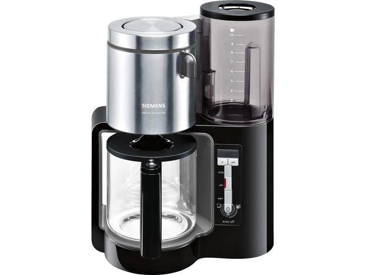Siemens TC86303 Koffiezetapparaat Zwart, Antraciet Capaciteit koppen: 15 Glazen kan, Warmhoudfunctie