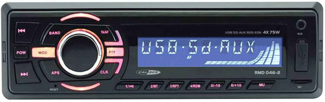 Conrad-Caliber Audio Technology RMD046BT2 Autoradio enkel DIN Bluetooth handsfree-aanbieding