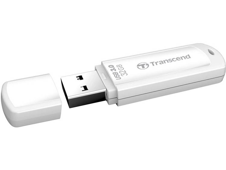 Transcend JetFlash® 730 USB-stick 32 GB Wit TS32GJF730 USB 3.0
