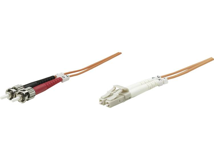 Kabel Intellinet Glasvezel [1x LC-stekker - 1x ST-stekker] 50/125µ 2 m