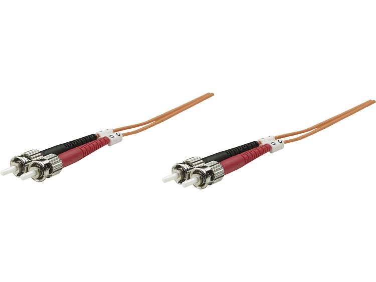 Kabel Intellinet Glasvezel [1x ST-stekker - 1x ST-stekker] 62,5/125µ 2 m