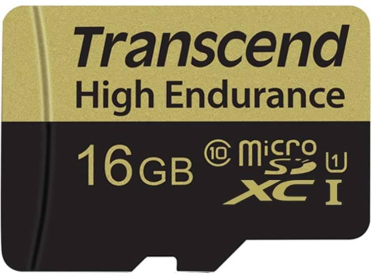 Transcend Transcend microSDHC 16GB Class 10 MLC High Endurance (TS16GUSDHC10V)