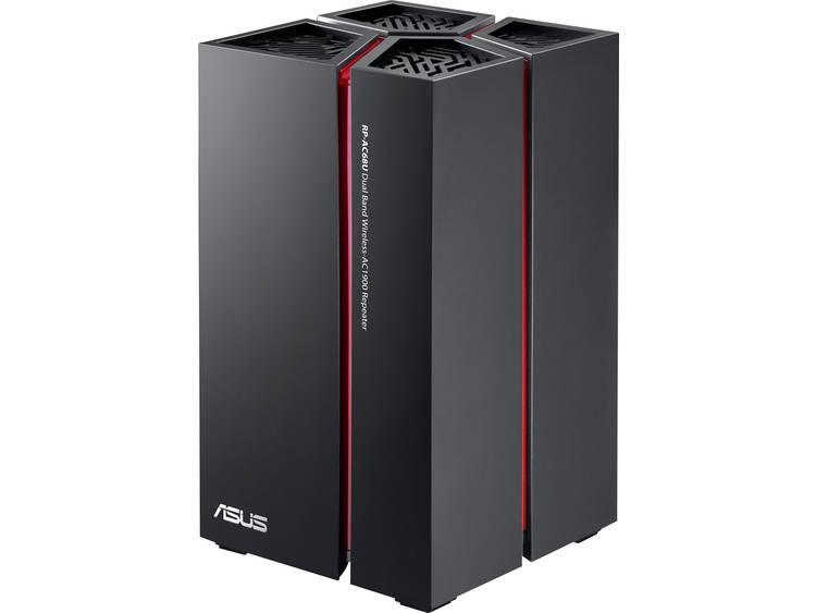 Asus RP-AC68U WiFi versterker 1.9 Gbit/s 2.4 GHz, 5 GHz