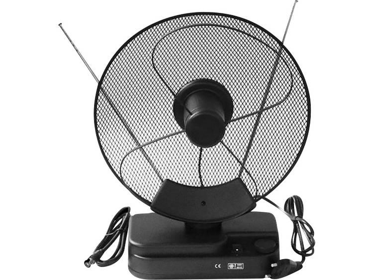 Smart F22 Actieve DVB-T/T2 telescoopantenne Binnen Versterking=36 dB Zwart