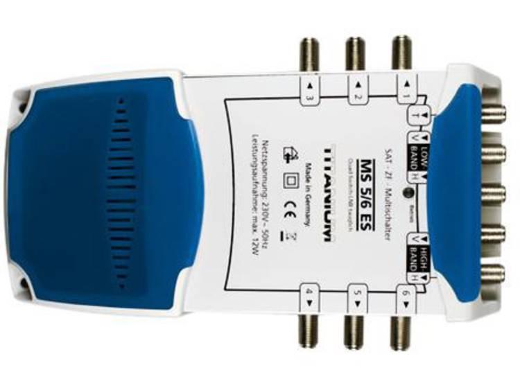 Smart MS 5/6 ES Satelliet multiswitch Ingangen (satelliet): 5 (4 satelliet / 1 terrestrisch) Aantal gebruikers: 6 geschikt voor Quad LNB