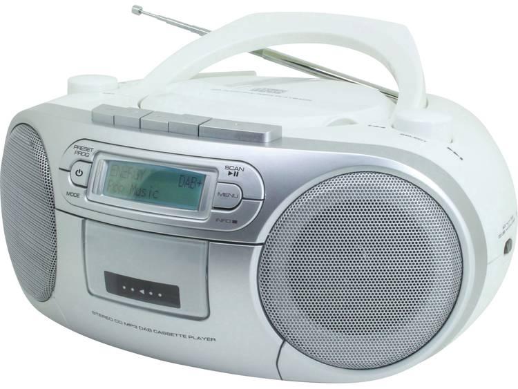 SoundMaster SCD7900 DAB+ radio CD-radio Wit