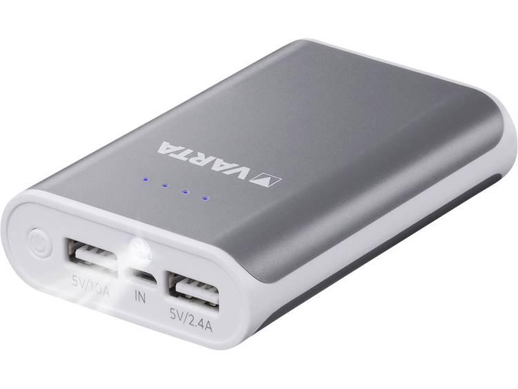 Varta Powerbank 6000 mAh 2 USB-poort(en)