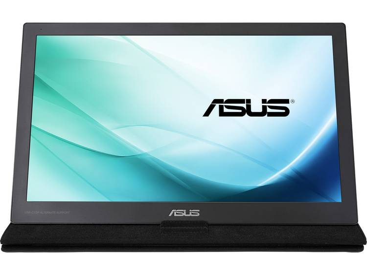LED-monitor 39.6 cm (15.6 inch) Asus MB169C+ Energielabel n.v.t. 1920 x 1080 pix Full HD 5 ms USB-C IPS LED