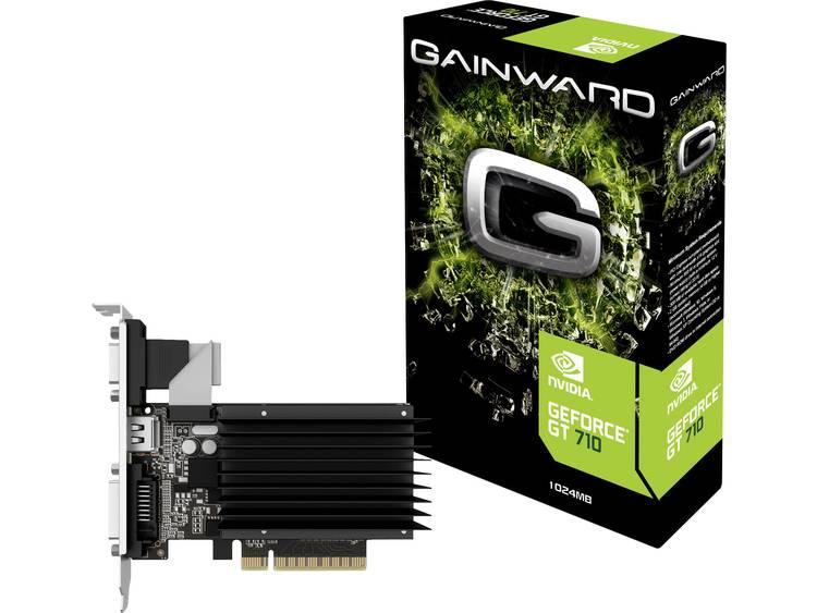Videokaart Gainward Nvidia GeForce GT710 1 GB DDR3-RAM PCIe x16 DVI, VGA, HDMI
