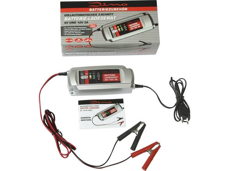 DINO Auto accu druppellader 12 V, 6 V 3 A 3 A