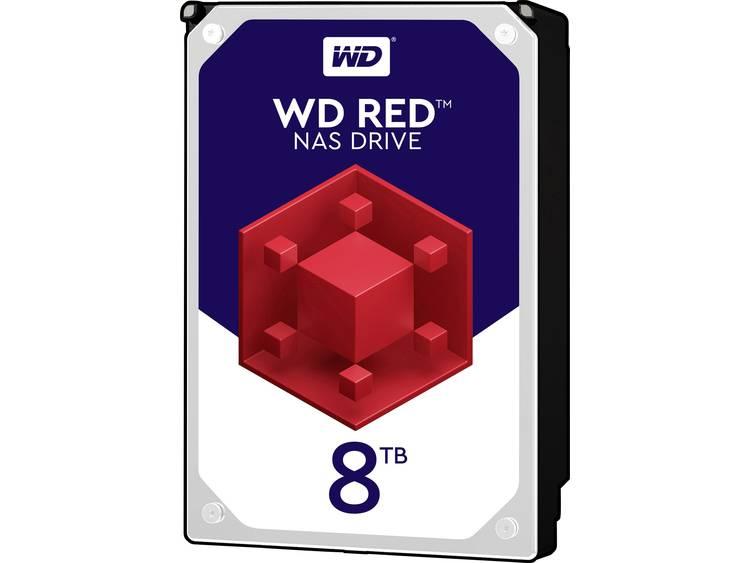 Harde schijf (3.5 inch) 8 TB Western Digital Red⢠Bulk WD80EFAX SATA III