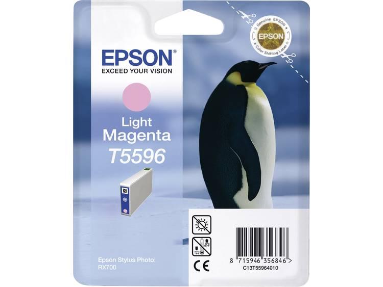 Epson Inkt T5596 Origineel Lichtmagenta C13T55964010