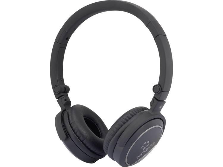 renkforce Koptelefoon Kabel On Ear Vouwbaar, Headset Zwart