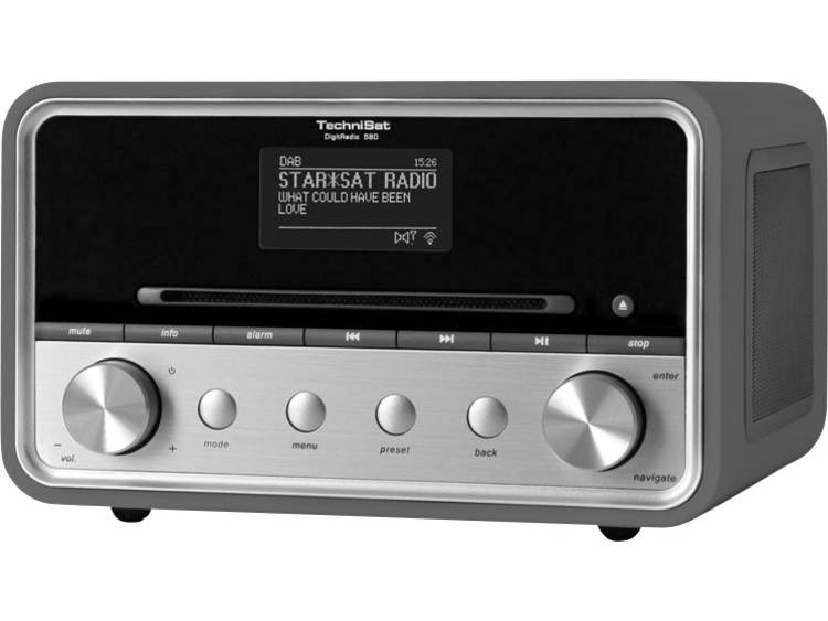 TechniSat DigitRadio 580 Tafelradio met internetradio DAB+, FM AUX, Bluetooth, C
