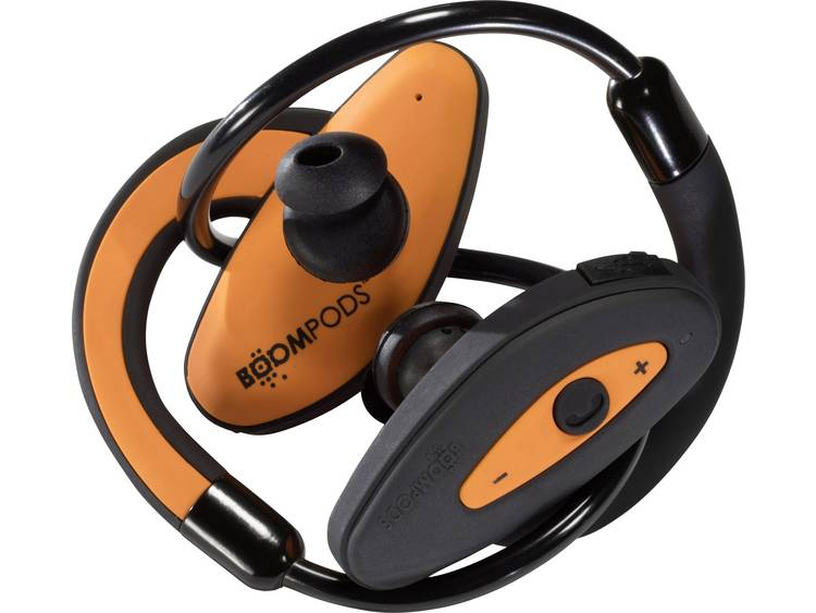Boompods Headphones Bluetooth Sportpods, orange