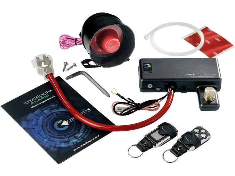 Cadillock Alarm Auto alarmsysteem Incl. afstandsbediening, Schoksensor 12 V