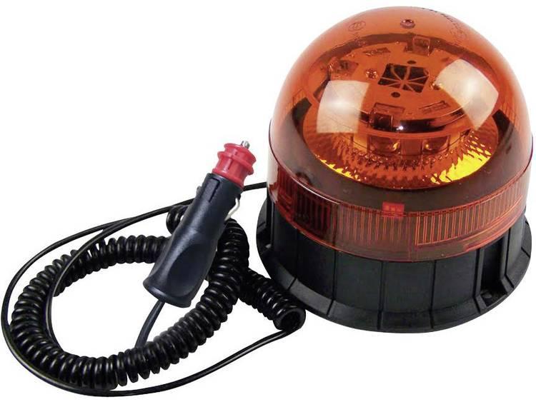 Berger Schröter Zwaailicht 20209 12 V, 24 V werkt op boordnet Magneetvoet, Zuignapvoet, Schroefmontage Oranje