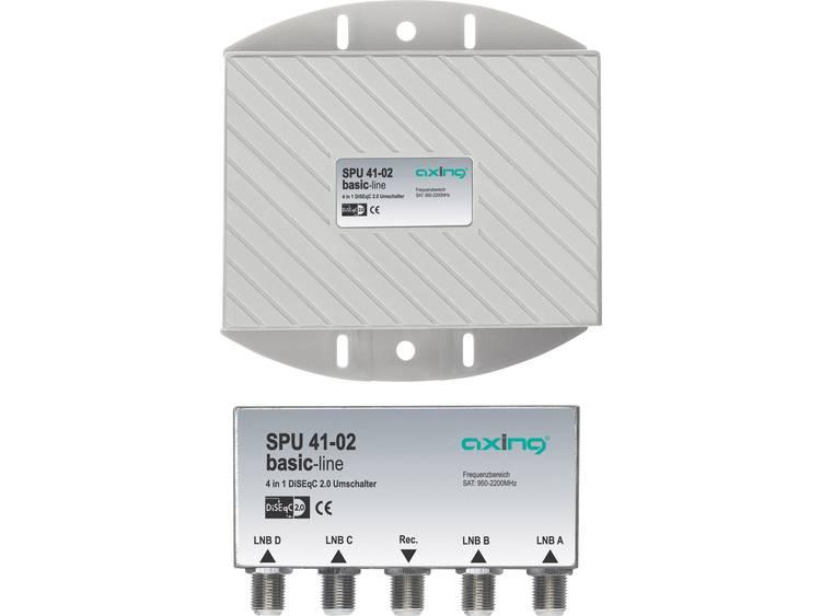 Axing SPU 41-02 DiSEqC-schakelaar 5 (4 satelliet / 1 terrestrisch) 1