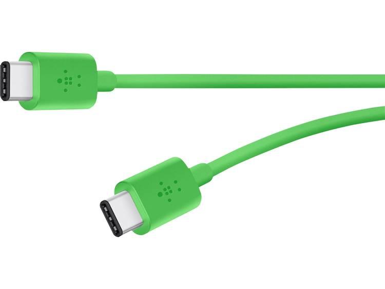 USB 2.0 Kabel Belkin [1x USB-C stekker - 1x USB-C stekker] 1.8 m Groen