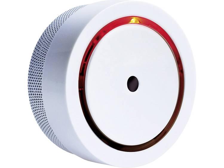 Rookmelder m-e modern-electronics 20570 incl. batterij (10 jaar), Mini