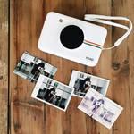 Polaroid Snap instant camera, wit