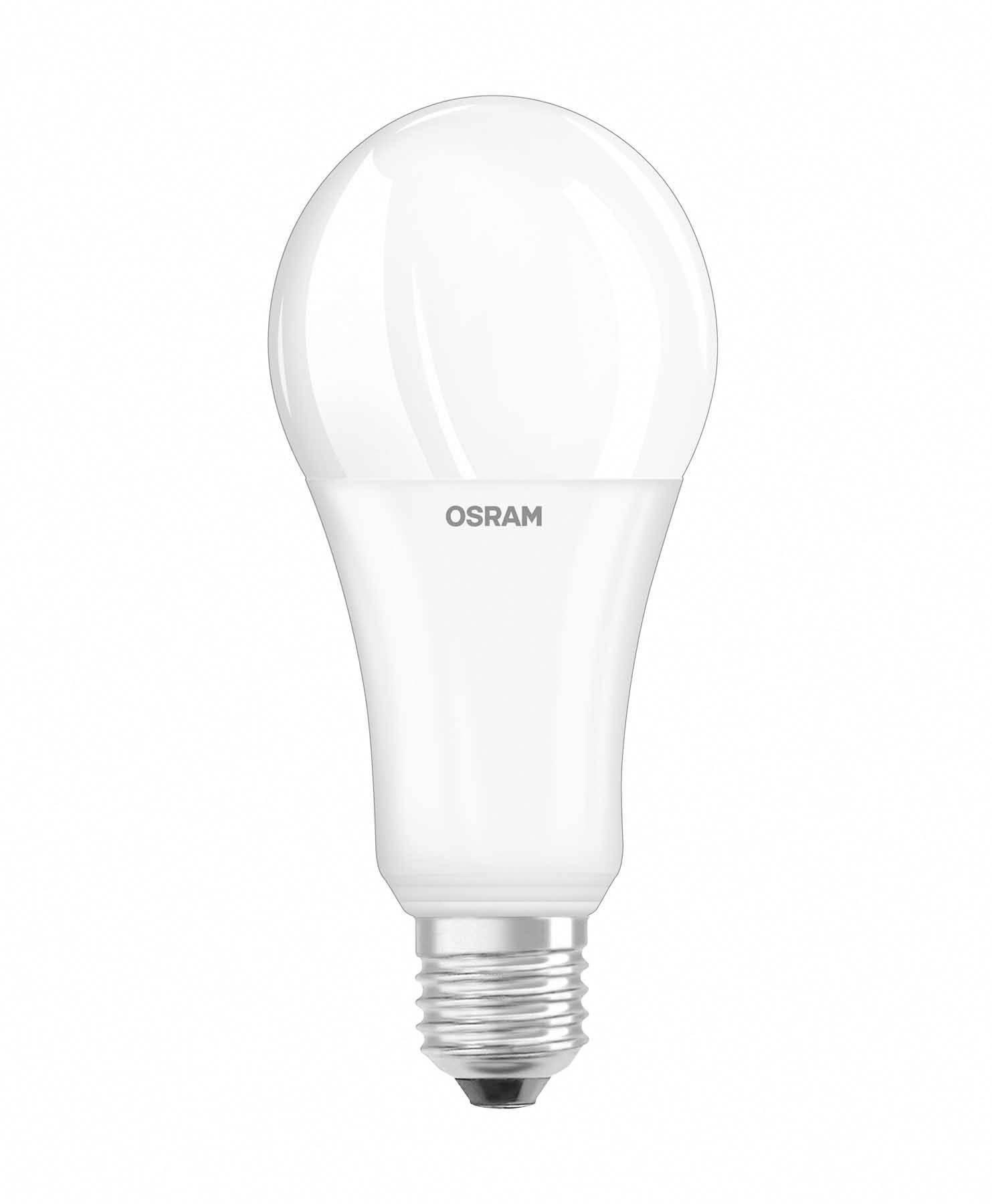 osram 4052899959651 led lamp e27 peer 21 w 150 w warmwit dimbaar energielabel a a e 1 stuks