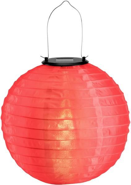 Solar decolamp Lampion LED 0.06 W Warm-wit Polarlite Rood | Conrad.be