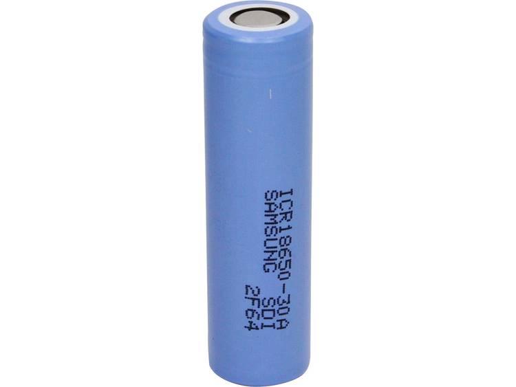 Samsung ICR18650-30A Speciale oplaadbare batterij 18650 Flat-top Li-ion 3.7 V 2850 mAh