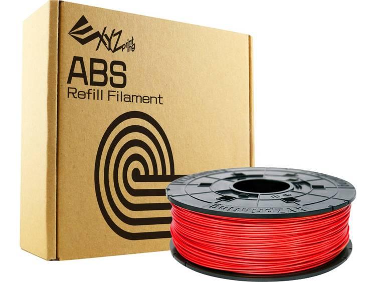 Filament XYZprinting RF10BXEU04H ABS kunststof 1.75 mm Rood 600 g