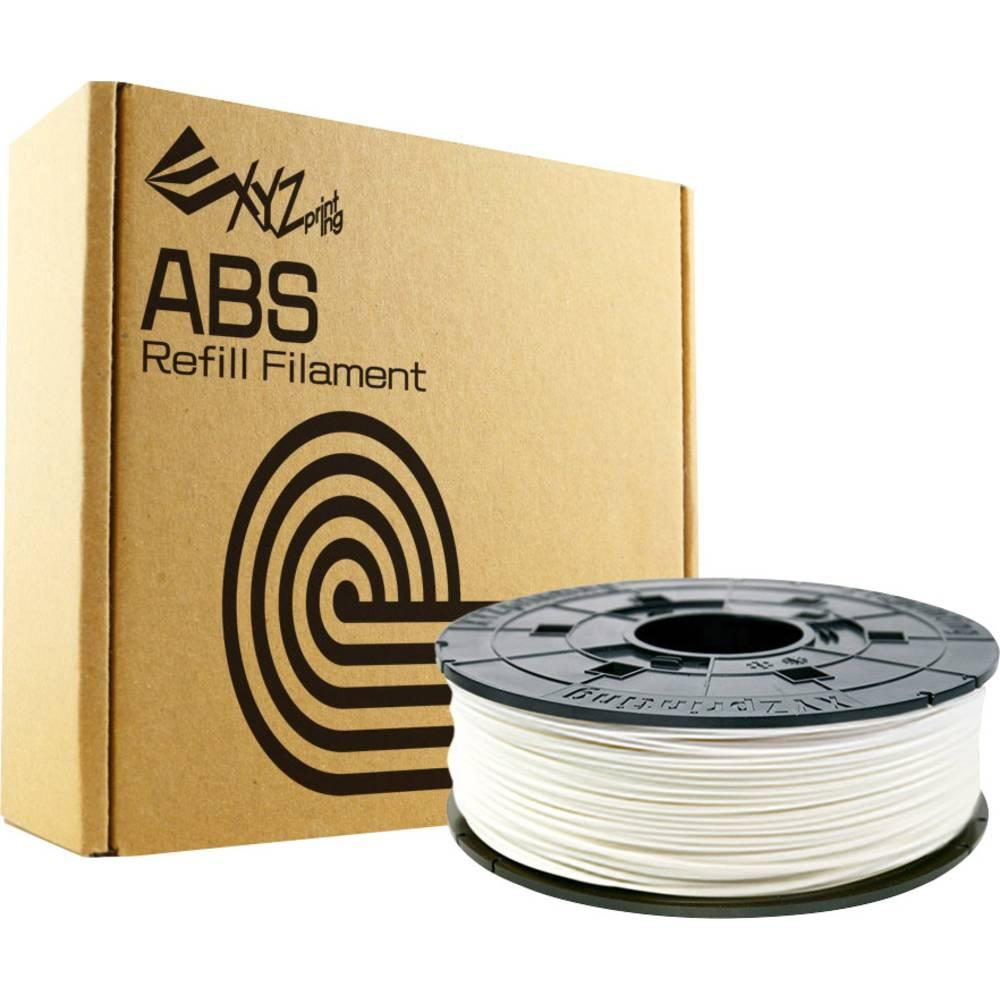3D-skrivare Filament XYZprinting ABS-plast 1.75 mm Snövit 600 g Refill