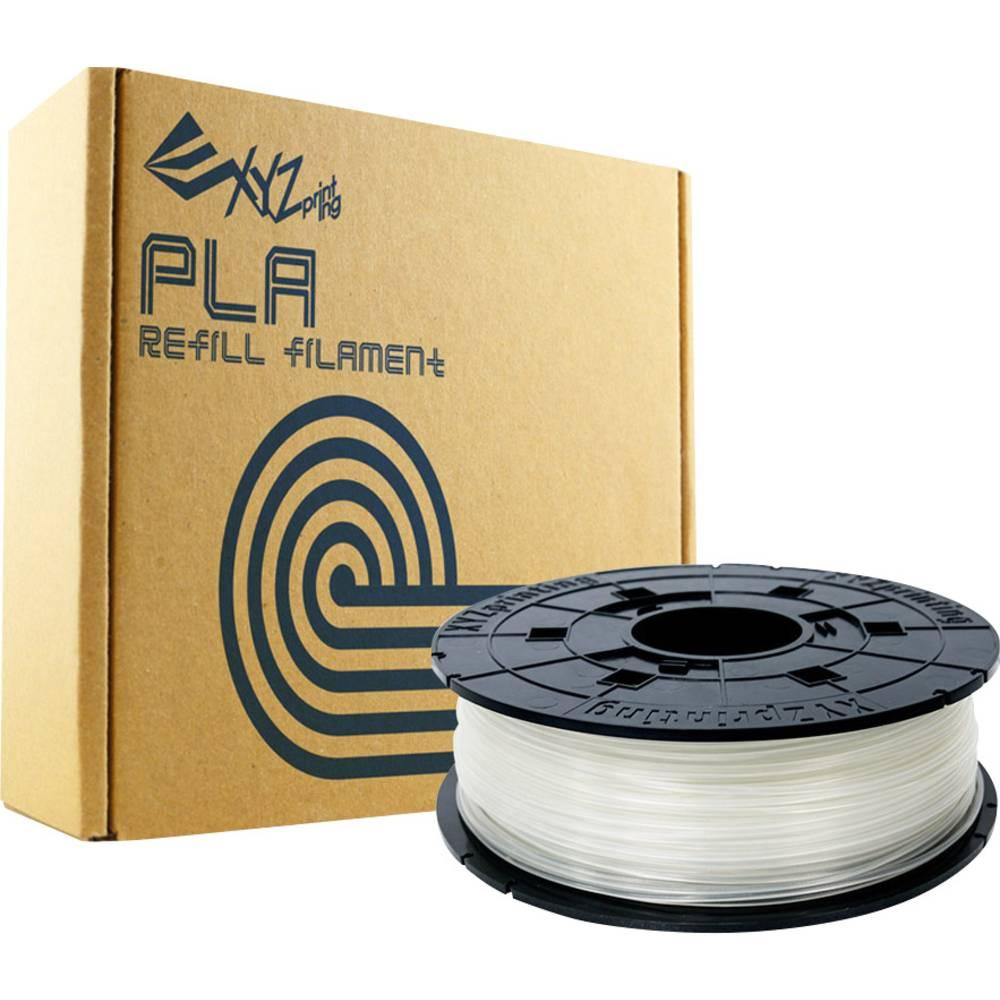 3D-skrivare Filament XYZprinting PLA-plast 1.75 mm Natur 600 g Refill