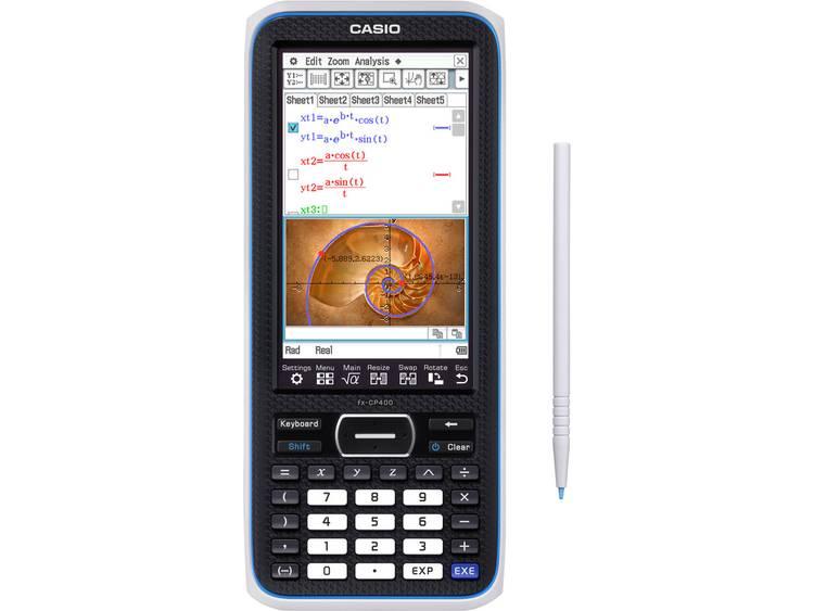 Grafische rekenmachine Casio ClassPad II fx CP400 Zwart Aantal displayposities