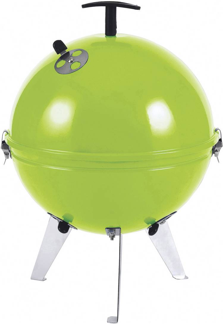 Image of Barbecue tepro Garten Crystal Kogel Grilloppervlak (diameter): 290 mm Appelgroen