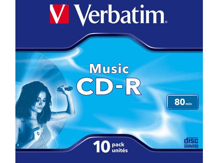 Verbatim 43365 CD-R disc 10 stuks Jewelcase