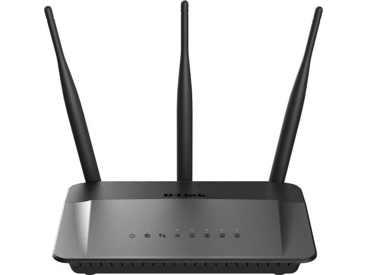 WiFi router D-Link DIR-809/E 2.4 GHz, 5 GHz 750 Mbit/s