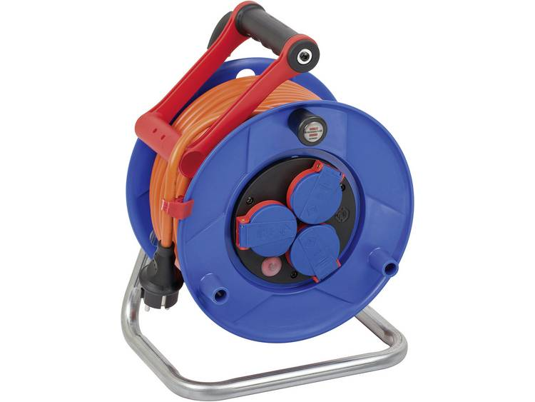 Brennenstuhl kabelhaspel inclusief 25m (oranje) kabel (N07V3V3-F3G1,5)