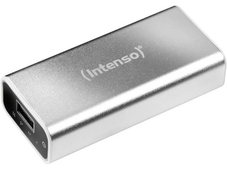 Intenso Intenso Powerbank ALU 5200 zilver, accu: 5200mAh (7322421)