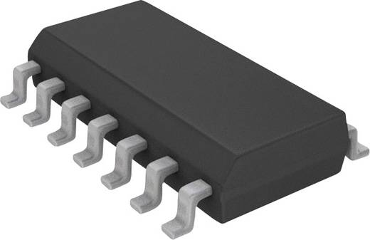 Microchip Technology MCP6564-E/SL Lineaire IC - comparator Multifunctioneel CMOS, Push-pull, Rail-to-rail, TTL SOIC-14