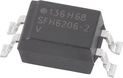 Optocoupler fototransistor Vishay SFH6206-2 SMD-4 Transistor AC, DC