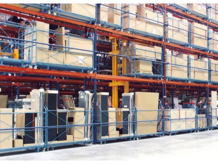 META 80380 (b x h x d) 2285 x 2700 x 1100 mm Verzinkt, Rood-oranje